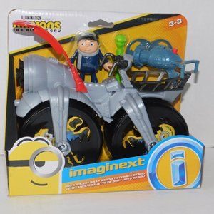 Minions Gru's Rocket Bike Imaginext